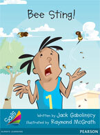 Sails Additional Fluency - Turquoise: Bee Sting! (Reading Level 18/F&P Level J)