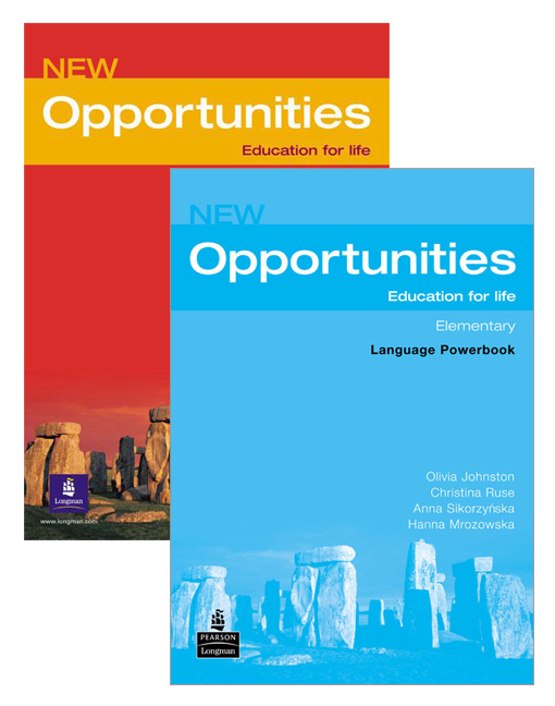 Opportunities Elementary Student Book + Elementary Language Powerbook, 2nd Edition