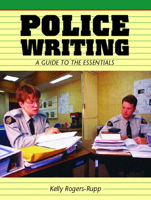 police writing