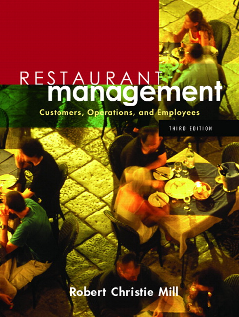 restaurant operation management Part of thehospitality administration and management commons enz, c a (2004) issues of concern for restaurant owners and type of operation does not total.