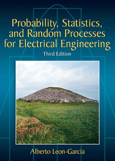 Probability, Statistics, and Random Processes For Electrical Engineering - Image