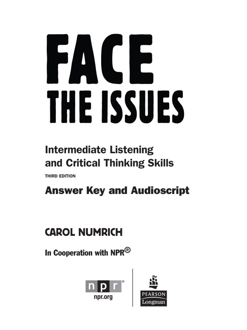 critical thinking answers key The power of critical thinking: key words summary exercises field problems appendix b answers to exercises.
