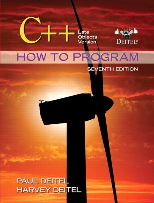 C How To Program Late Objects Version 7th Deitel Deitel Buy
