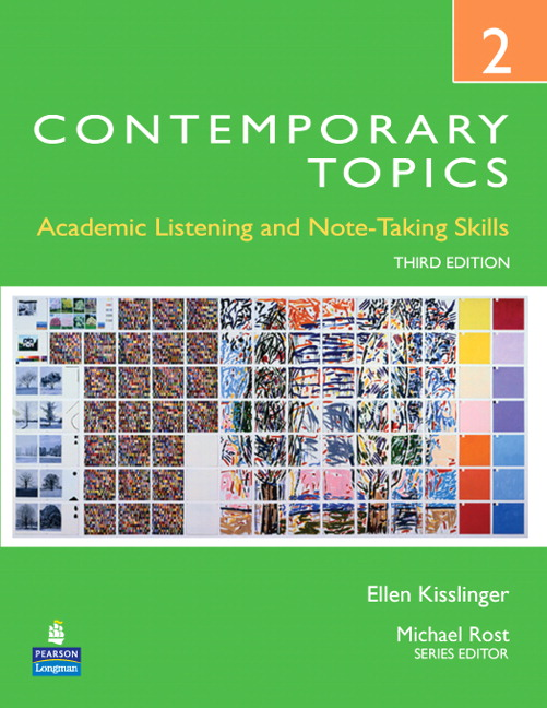 Contemporary topics 2 academic listening and note taking skills pearson 9780132345248 9780132345248 contemporary topics 2 academic listening and note taking skills high intermediate fandeluxe Gallery