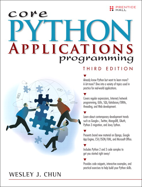 Core python applications programming 3rd chun wesley buy online pearson 9780132678209 9780132678209 core python applications programming fandeluxe Images