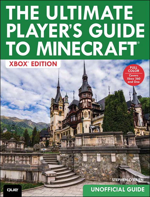 Book Cover Craft Xbox ~ Ultimate player s guide to minecraft xbox edition the