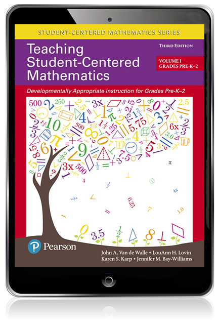 Teaching student centered mathematics developmentally appropriate pearson 9780134081434 9780134081434 teaching student centered mathematics developmentally appropriate instruction for grades pre k 2 volume i ebook fandeluxe Choice Image