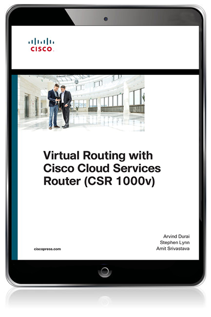 Virtual Routing with CISCO Cloud Services Router (CSR 1000V) eBook