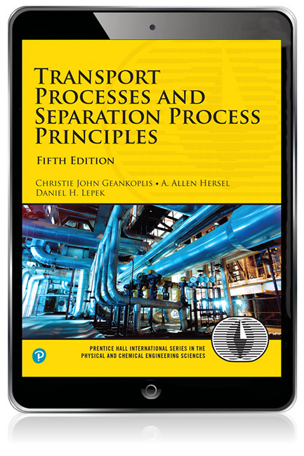 Transport Processes and Separation Process Principles eBook
