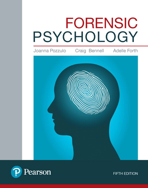 Forensic psychology 5th pozzulo joanna et el buy online at pearson fandeluxe Images