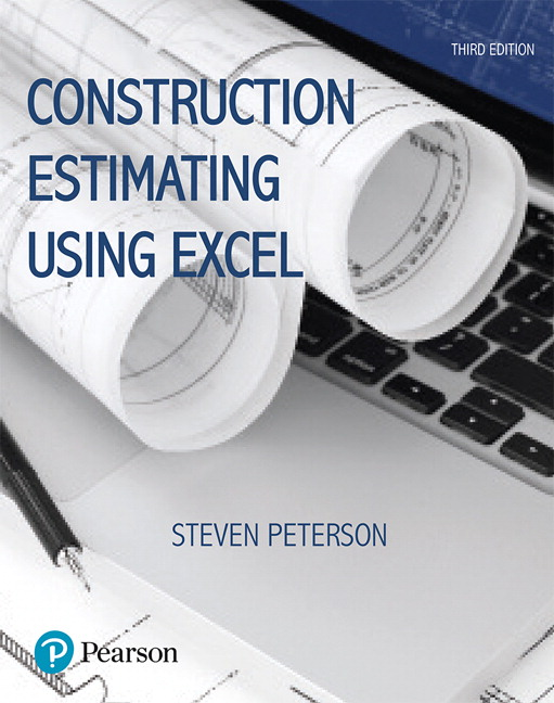 Construction estimating using excel 3rd peterson buy for Online building estimator