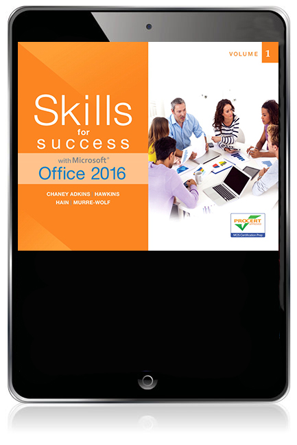 Skills for Success with Microsoft Office 2016 Volume 1 eBook