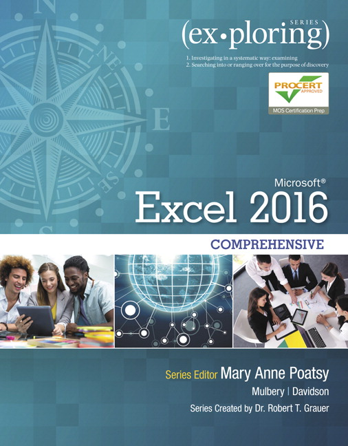 Exploring microsoft office excel 2016 comprehensive 1st poatsy pearson 9780134479446 9780134479446 exploring microsoft office excel 2016 comprehensive this book offers fandeluxe Image collections