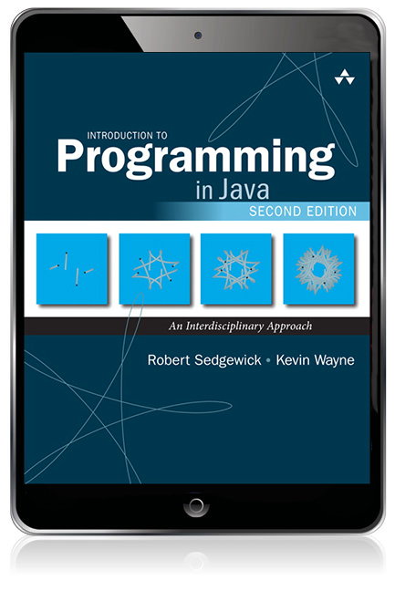 Introduction to programming in java an interdisciplinary approach learning to program is essential to the education of every student in the sciences engineering and far beyond as students learn to create useful fandeluxe Choice Image