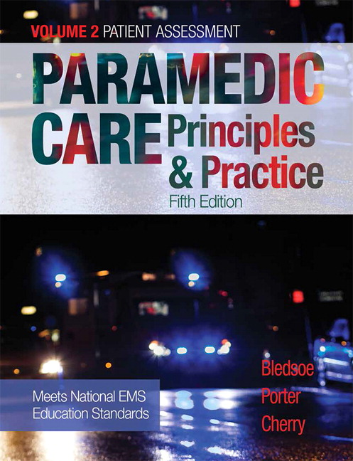 Paramedic care principles practice volume 2 5th bledsoe pearson 9780134569956 9780134569956 paramedic care principles practice fandeluxe Choice Image