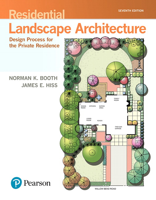 Pearson 9780134602806 Residential Landscape Architecture Design Process For The Private Residence