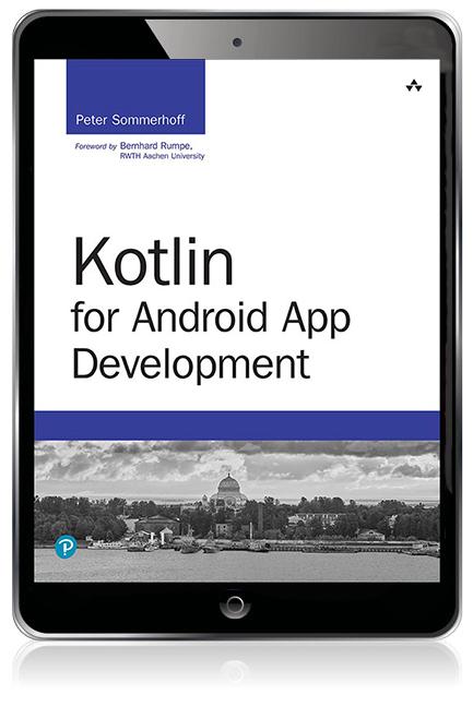 Kotlin for Android App Development eBook