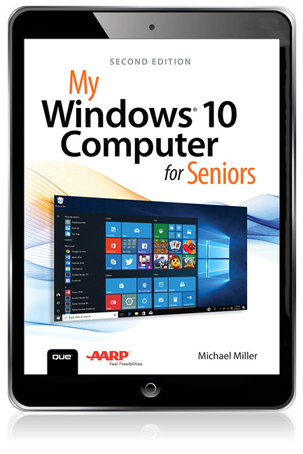 My Windows 10 Computer For Seniors eBook