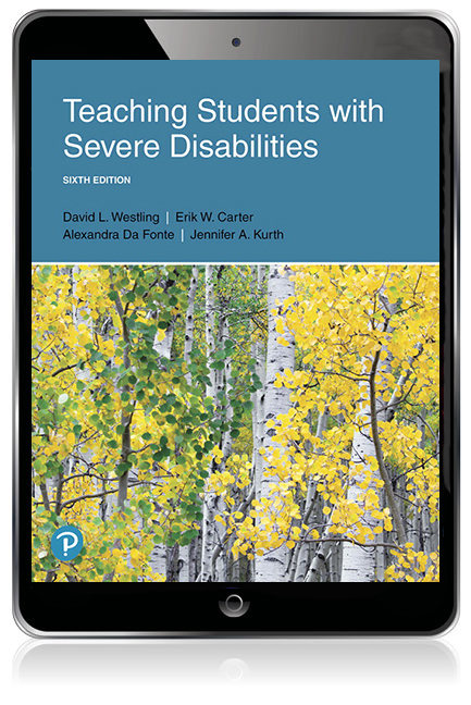 Teaching Students with Severe Disabilities eBook - Image