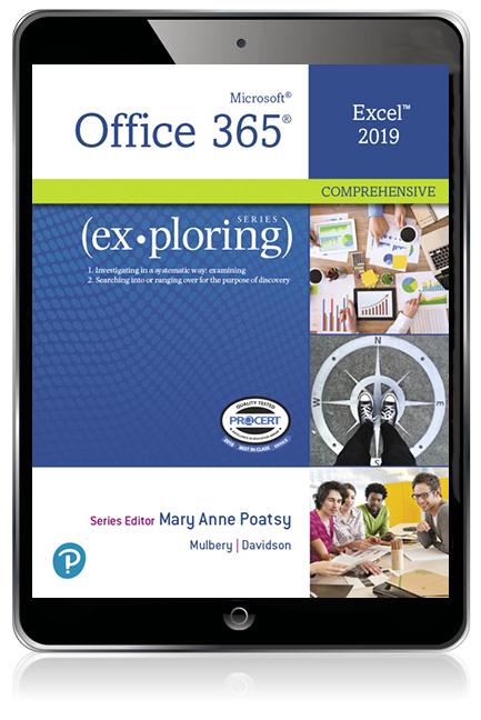 Exploring Microsoft Office Excel 2019 Comprehensive eBook