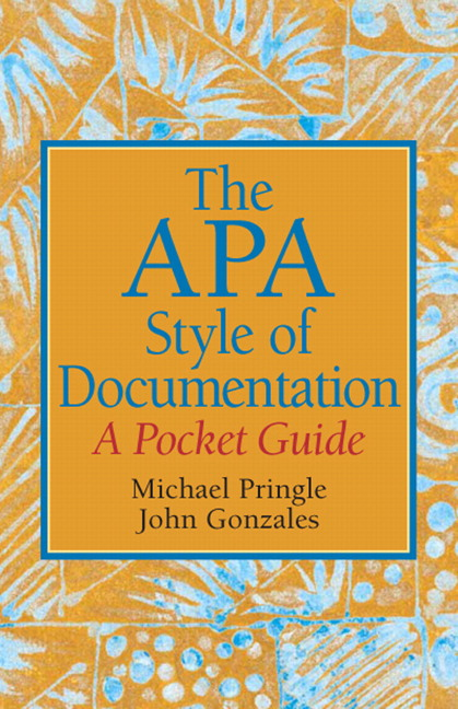 The APA Style of Documentation: A Pocket Guide - Image