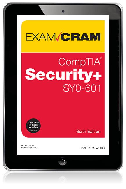 CompTIA Security+ SY0-601 Exam Cram eBook - Image