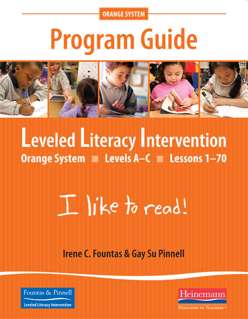 fountas and pinnell guided reading program