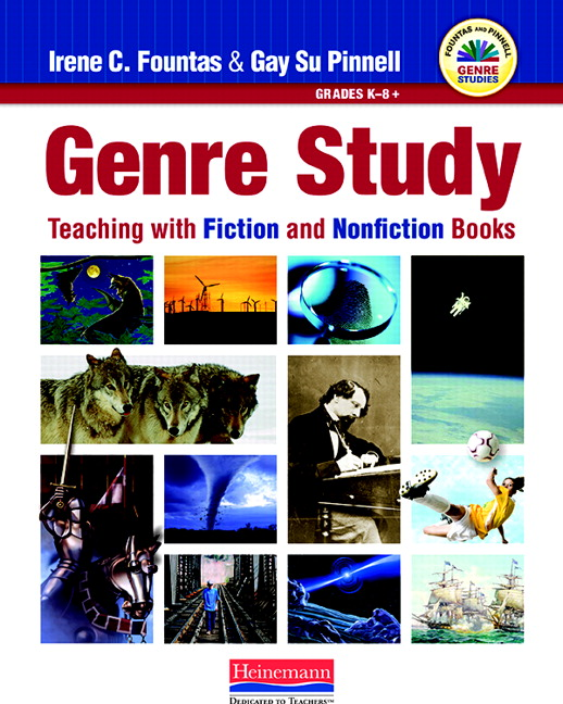 In exploring Genre Study, Fountas & Pinnell advocate teaching and learning  in which students are ...