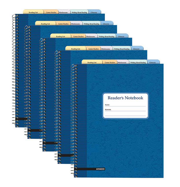 Fountas Pinnell S Reader S Notebook Advanced 25 Pack