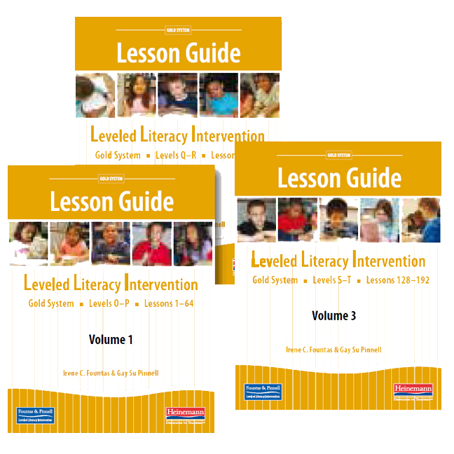 Fountas Pinnell Leveled Literacy Intervention Gold System Grade 4 Lesson Guide