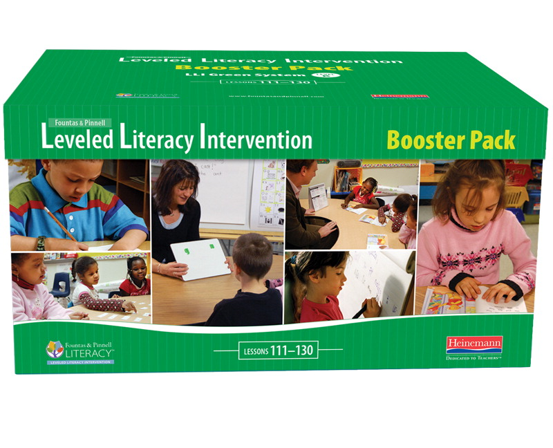 Fountas Pinnell Leveled Literacy Intervention LLI Green Booster Pack