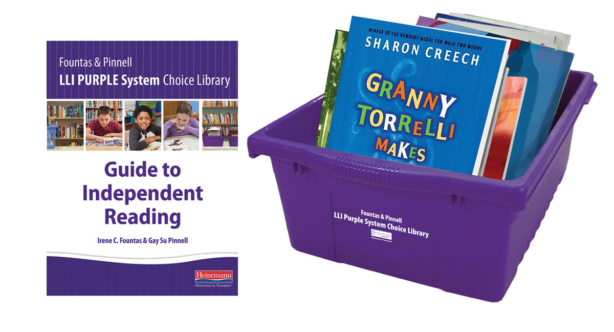 ... Optimise and expand your struggling readers' reading power with the  Fountas & Pinnell Leveled Literacy Intervention (LLI) Purple System Choice  Library.