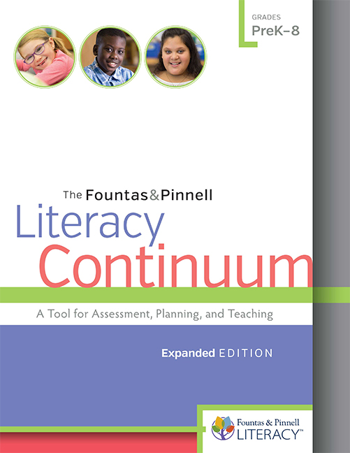 Fountas & Pinnell Literacy Continuum, Expanded Edition - Image