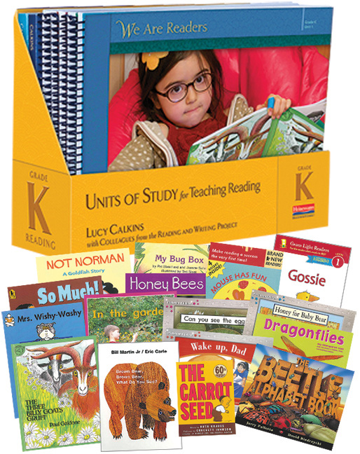 Units of Study for Reading, Grade K with Trade Pack - Image