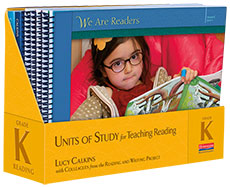 Units of Study for Reading, Grade K - Image