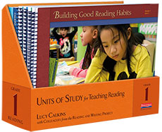 Units of Study for Reading, Grade 1 - Image