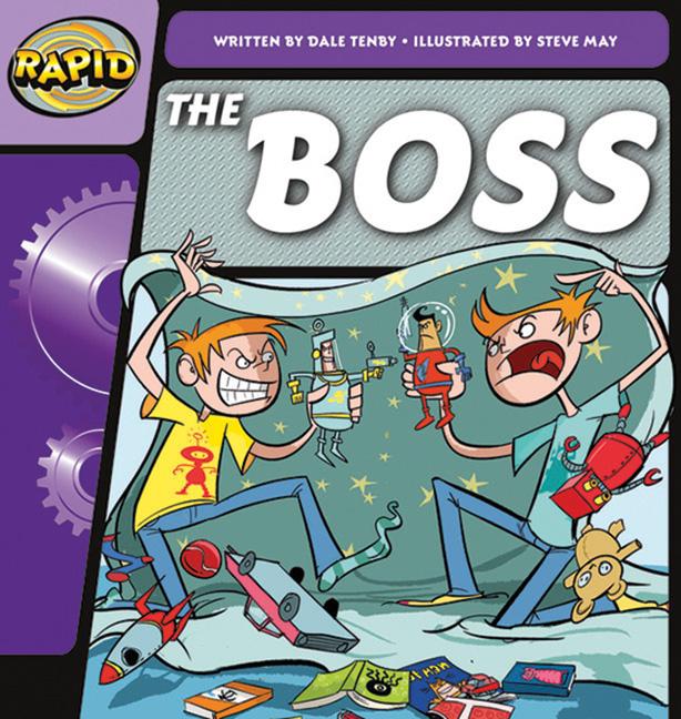 Rapid Phonics Step 1: The Boss - Fiction