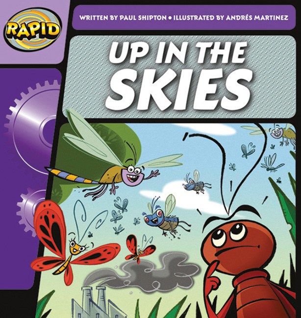 Rapid Phonics Step 2: Up in the Skies - Fiction