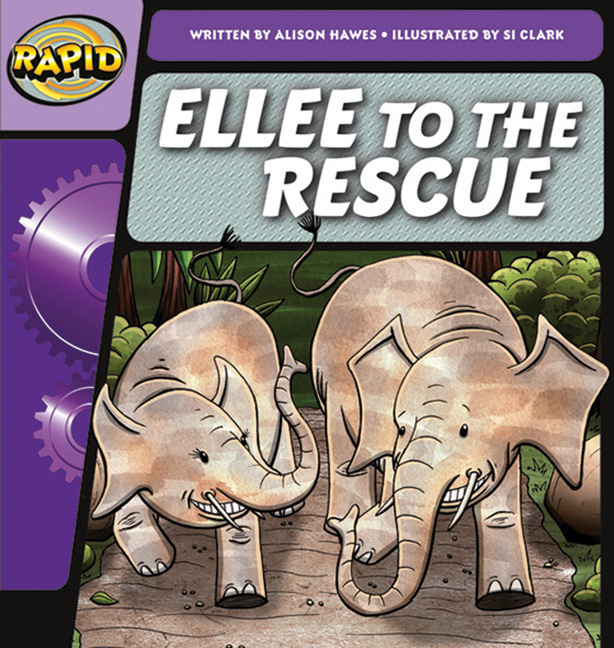 Rapid Phonics Step 2: Ellee to the Rescue - Fiction