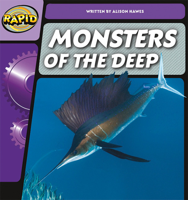 Rapid Phonics Step 2: Monsters of the Deep - Non-fiction