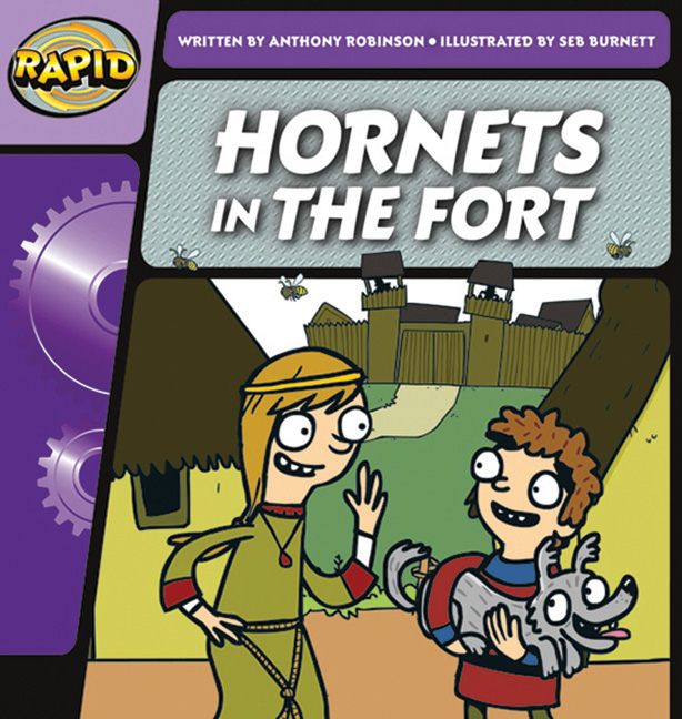 Rapid Phonics Step 2: Hornets in the Fort - Fiction