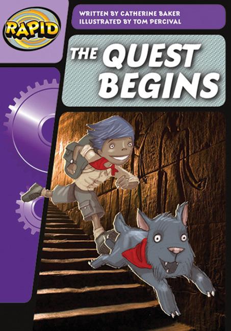 Rapid Phonics Step 3: The Quest Begins