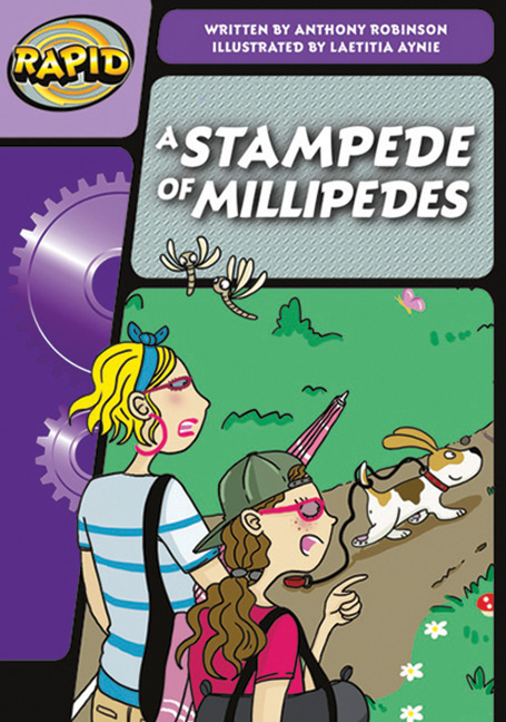 Rapid Phonics Step 3:  A Stampede Of Millipedes - Fiction
