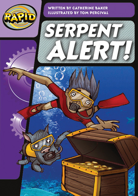 Rapid Phonics Step 3: Serpent Alert! - Fiction