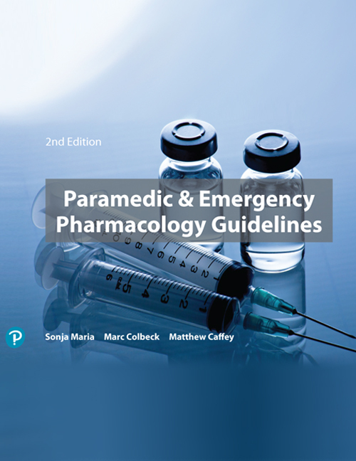 Paramedic & Emergency Pharmacology Guidelines (Pearson Original Edition) - Image