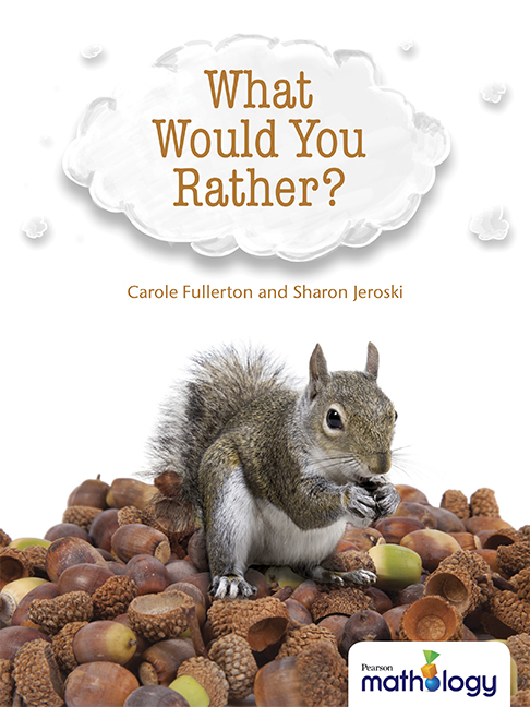 Mathology Little Books - Number: What Would You Rather?