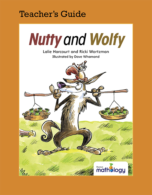 Mathology Little Books - Patterns and Algebra: Nutty and Wolfy Teacher's Guide