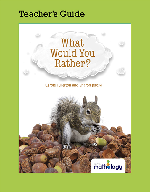 Mathology Little Books - Number: What Would You Rather? Teacher's Guide