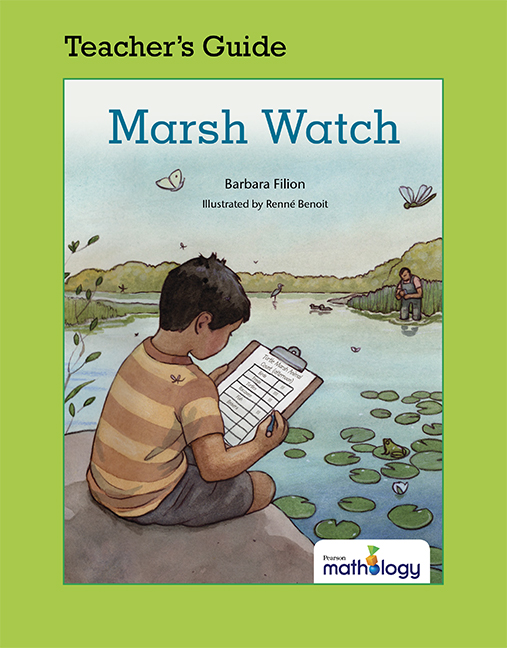 Mathology Little Books - Data Management and Probability: Marsh Watch Teacher's Guide