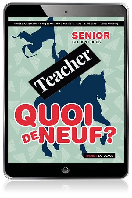 Quoi de Neuf ? Senior Teacher eBook with audio download - Image